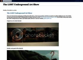 lostundergroundartshow.blogspot.com
