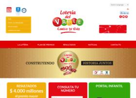 loteriadelvalle.com