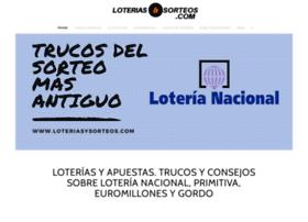 loteriasysorteos.com