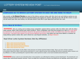 lotterysystemreviewpost.webs.com