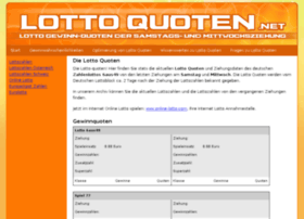 lotto-quoten.net
