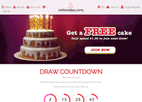 lottocake.com