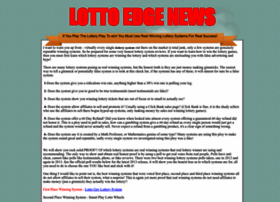 lottoedge.webstarts.com