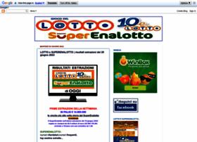 lottoesuperenalottoestrazioni.blogspot.it