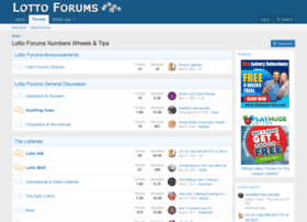 lottoforums.com