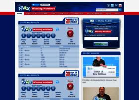 lottomaxwinningnumbers.ca