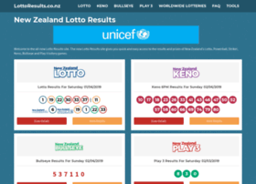 lottoresults.co.nz