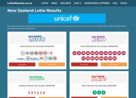 lottoresults.co.nz