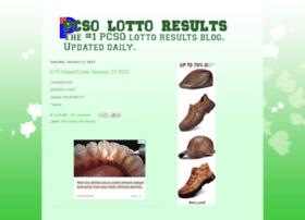 lottoresultspcso.com