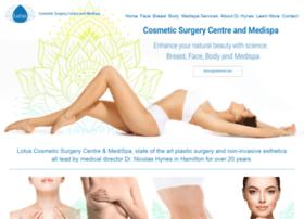 lotuscosmeticsurgery.com
