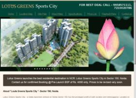 lotusgreensportscity.com