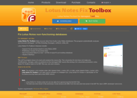 lotusnotes.fixtoolbox.com