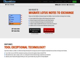 lotusnotestoexchange.com