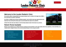 loudonpediatricclinic.com