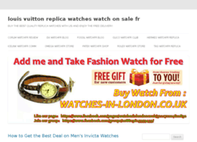 louis-vuitton-replica-watches.watchonsale.fr