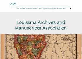 louisianaarchivists.org