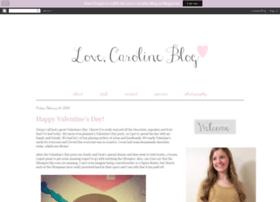 lovecarolineblog.blogspot.com