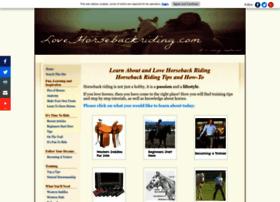 lovehorsebackriding.com