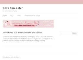 lovekoreastar.com