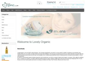 lovelyorganic.com