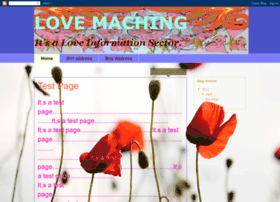 lovemaching.blogspot.com
