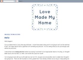 lovemademyhome.blogspot.co.uk