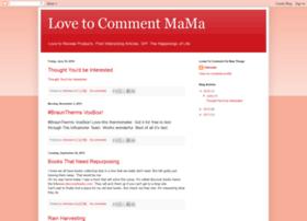 lovetocommentmama.blogspot.com