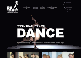 lovetodanceinc.com