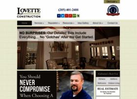 lovetteconstruction.com