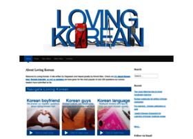 lovingkorean.com