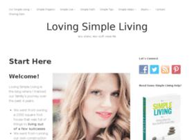 lovingsimpleliving.com