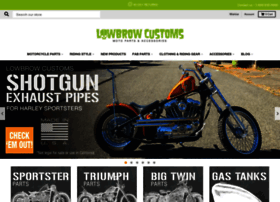 lowbrowcustoms.com