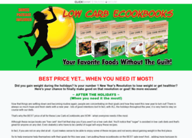 lowcarbecookbooks.com