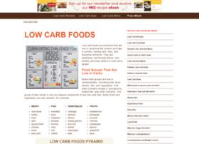 lowcarbfoods.org
