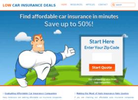 lowcarinsurancedeals.com