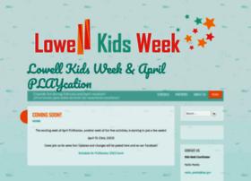 lowellkidsweek.org