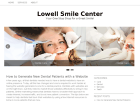 lowellsmilecenter.com