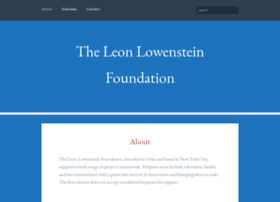 lowensteinfdn.org