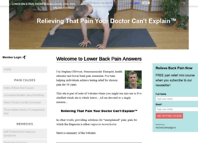 lower-back-pain-answers.com