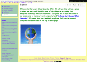 lower-school-learning.wikispaces.com