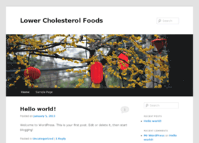 lowercholesterolfoods.biz