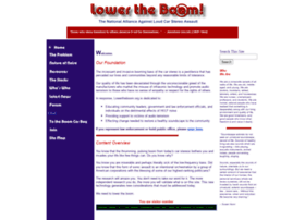 lowertheboom.org