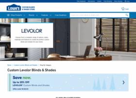 lowes.levolor.com