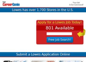 lowes.yourcareergenie.com