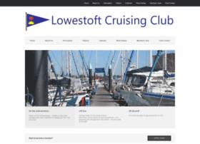 lowestoftcruisingclub.co.uk