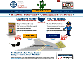 LowestPriceTrafficSchool.com | Florida Traffic School | Florida TLSAE