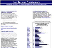 lowincome-apartments.com