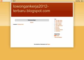 lowongankerja2012-terbaru.blogspot.com