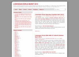 lowongankerjamaret-2013.blogspot.com