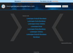 lowongankerjasurabayaterbaru.com